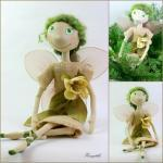 Cloth Doll Fairy Fly - Gif..