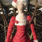 Cloth doll Tilda Agatha