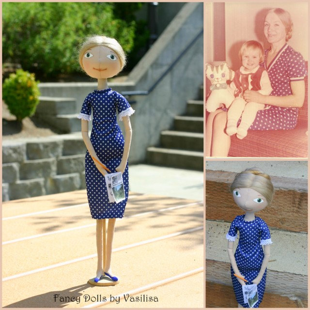 Portrait doll - Personalized gift - made to order