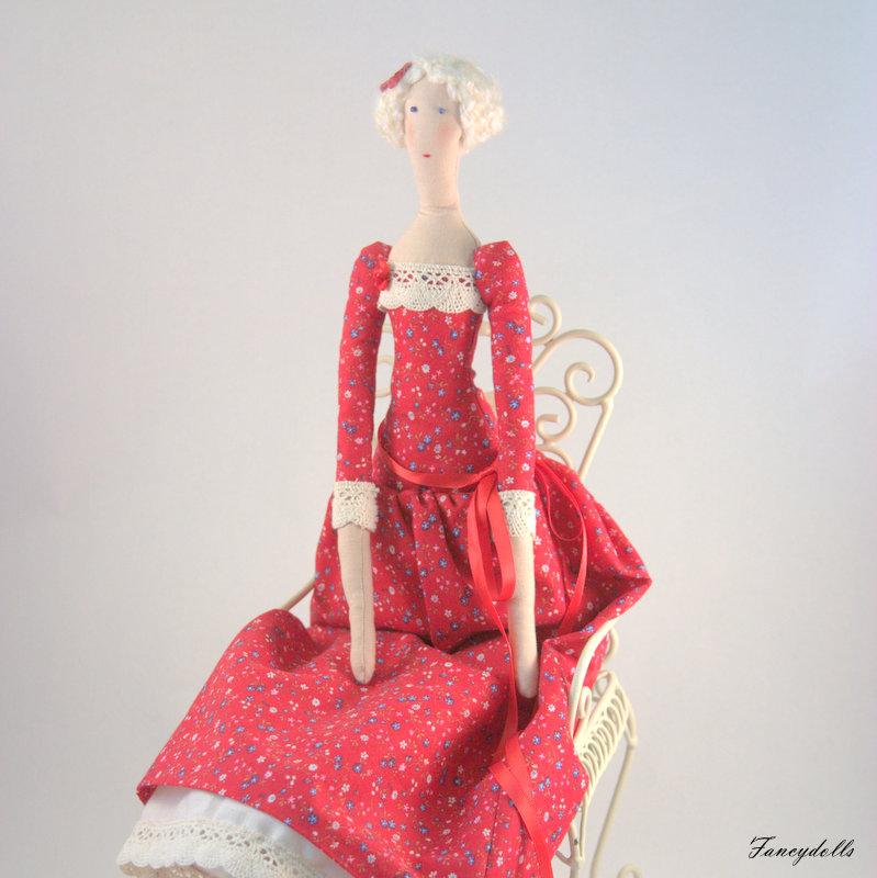 Cloth Doll Tilda Agatha on Luulla